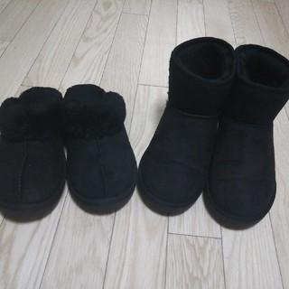 ジーユー(GU)の靴2点セット(ブーツ)