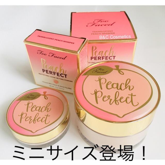 Too Faced(トゥフェイス)のPeach Perfect Mattifying Setting Powder  コスメ/美容のベースメイク/化粧品(フェイスパウダー)の商品写真