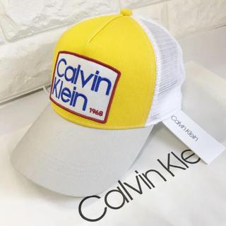 カルバンクライン(Calvin Klein)の新品 ★海外限定商品 カルバンクライン 帽子 メッシュ キャップ(キャップ)