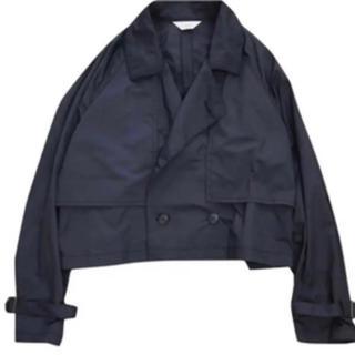 ジエダ(Jieda)のjieda19ss short trench jacket 定価以下 サイズ2(トレンチコート)