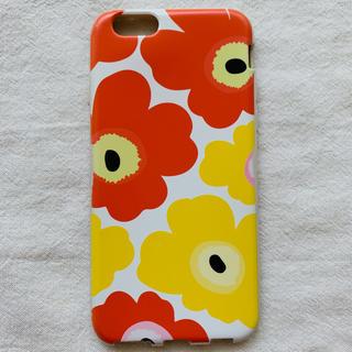 マリメッコ(marimekko)のマリメッコ ウニッコ風 iPhone6S カバー(iPhoneケース)