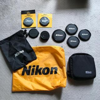 Nikon - NIKON レンズキャップ&ポーチまとめて