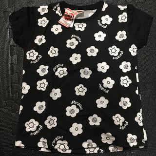 シマムラ(しまむら)の新品花柄パフ半袖(Tシャツ/カットソー)