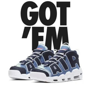 ≪国内正規≫AIR MORE UPTEMPO 96 QS DENIM27.5cm(スニーカー)
