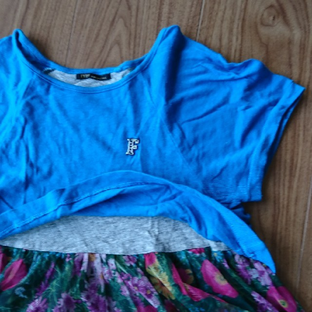 FITH(フィス)のチュニックワンピース キッズ/ベビー/マタニティのキッズ服 女の子用(90cm~)(ワンピース)の商品写真