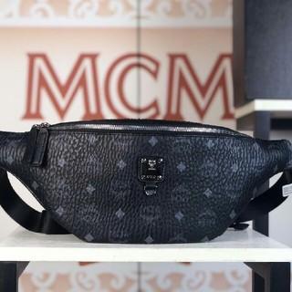 MCM - MCM ボディーバッグ ウェストバッグ ウェストポーチ 大容量