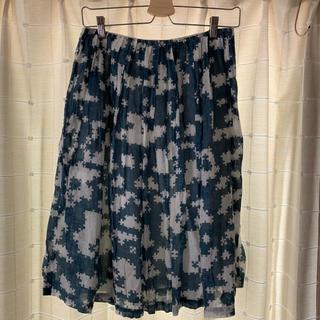 ミナペルホネン puzzle スカート
