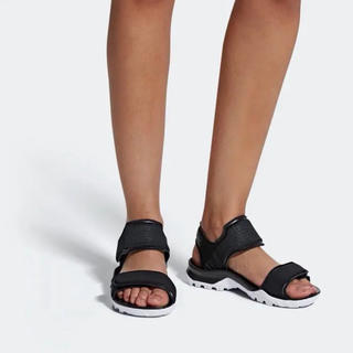 アディダスバイステラマッカートニー(adidas by Stella McCartney)のアディダス×ステラマッカートニー ヒキラサンダル 25.5cm(スニーカー)