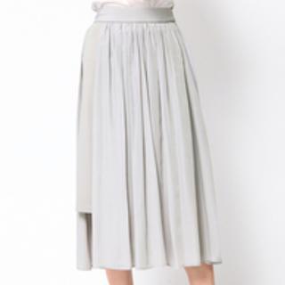 クイーンズコート(QUEENS COURT)のクイーンズコート☆ギャザースカート(ロングスカート)