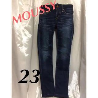 マウジー(moussy)のmoussy スキニー デニム  サイズ23(スキニーパンツ)