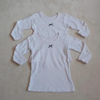 グンゼ(GUNZE)のグンゼ  女の子  長袖肌着  110  2枚セット  ①(下着)