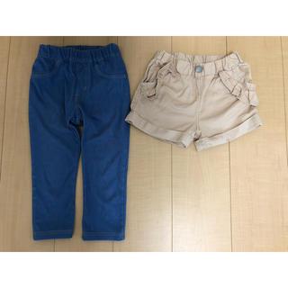ブリーズ(BREEZE)のアプレレクール  ショートパンツ パンツ 2枚セット 110(パンツ/スパッツ)