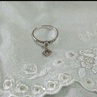 コンアフェット ピンキーリング ダイヤ(リング(指輪))