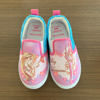 ディズニー(Disney)の新品 未使用 ラプンツェル 靴(スリッポン)