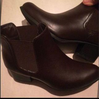 オデットエオディール(Odette e Odile)の確認用 美品 サイドゴア レインショートブーツ(レインブーツ/長靴)
