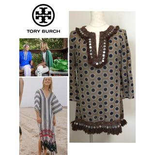トリーバーチ(Tory Burch)のTORY BURCH トリーバーチ チュニック コットン(チュニック)