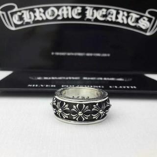 クロムハーツ(Chrome Hearts)のchrome heart クロムハーツ スピナー クロスリング(リング(指輪))