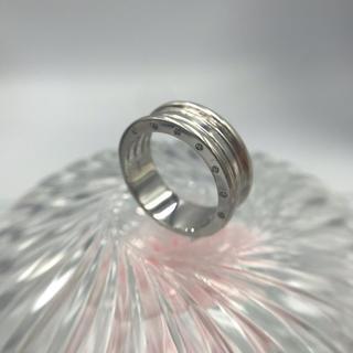 K18WG ダイヤモンド デザイン リング D0.14 19-124(リング(指輪))