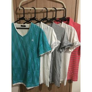 バーバリーブラックレーベル(BURBERRY BLACK LABEL)の【格安】5着セット!サイズ2!(Tシャツ/カットソー(半袖/袖なし))