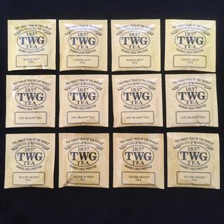 TWG コットン ティーパック 12袋 3種(茶)
