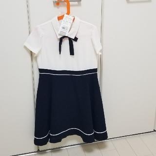 クミキョク(kumikyoku(組曲))の新品タグつき試着のみ KUMIKYOKU フォーマルワンピース120.130(ドレス/フォーマル)