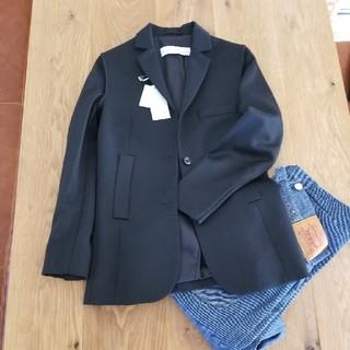 アパルトモンドゥーズィエムクラス(L'Appartement DEUXIEME CLASSE)のアパルトモン黒xsゴールデングースジャケットGoldenGoose(テーラードジャケット)