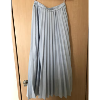 ユニクロ(UNIQLO)の美品 UNIQLO プリーツスカート(ロングスカート)