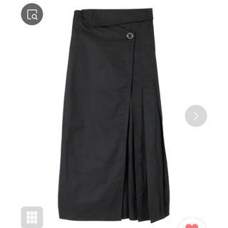 ティティベイト(titivate)の一度使用のみマキシ丈★コットンラップスカート★先日購入(ロングスカート)