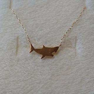 BLOOM - 【BLOOM】サメ K10 ネックレス