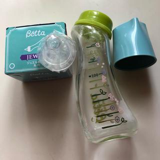 ベッタ(VETTA)のsaraハイジ様 専用ドクターベッタ哺乳瓶と ジュエル乳首 丸穴(哺乳ビン用乳首)