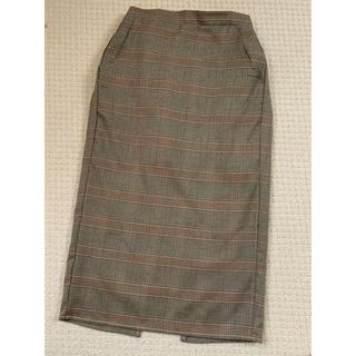 レトロガール(RETRO GIRL)のレトロガール♡グレンチェックタイトスカート(ロングスカート)
