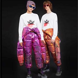 モンクレール(MONCLER)のMONCLER × PALM ANGELS モンクレール  ロングT-シャツ S(Tシャツ/カットソー(七分/長袖))