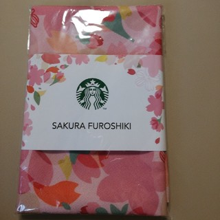 スターバックスコーヒー(Starbucks Coffee)のスターバックス さくら 風呂敷 ふろしき(日用品/生活雑貨)