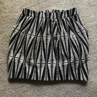 スタニングルアー(STUNNING LURE)のスタニング ♡ジャーガード コクーン スカート 0(ミニスカート)