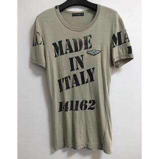 ドルチェアンドガッバーナ(DOLCE&GABBANA)のDolce&Gabbana メンズTシャツ サイズ 44(Tシャツ/カットソー(半袖/袖なし))