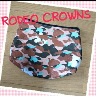 ロデオクラウンズ(RODEO CROWNS)のRODEO CROWNS♡カモフラ柄ポーチ(ポーチ)