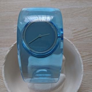 イッセイミヤケ(ISSEY MIYAKE)のあしゅ様専用 イッセイミヤケ スケルトンウォッチ(水色)(腕時計)