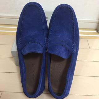 Banana Republic - ブルー ローファー 靴