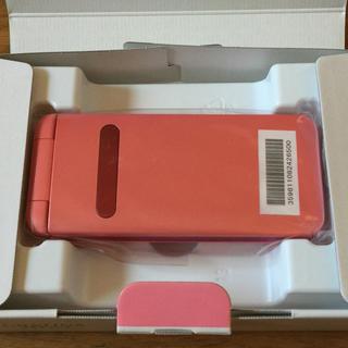 キョウセラ(京セラ)のSIMロック解除済 GRTINA KYF37 ピンク(携帯電話本体)
