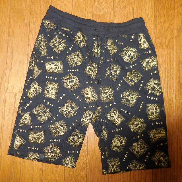 しまむら(シマムラ)のLサイズ 聖闘士星矢ハーフパンツ メンズのパンツ(ショートパンツ)の商品写真