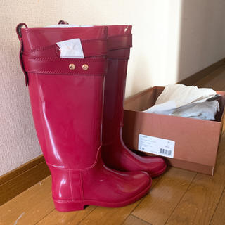 コーチ(COACH)のレインブーツ(レインブーツ/長靴)