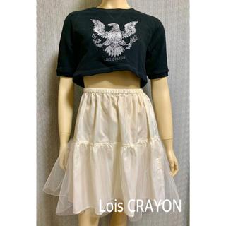 ロイスクレヨン(Lois CRAYON)の未使用❤️ロイスクレヨン クロップドTシャツ×チュールスカート セット M(セット/コーデ)