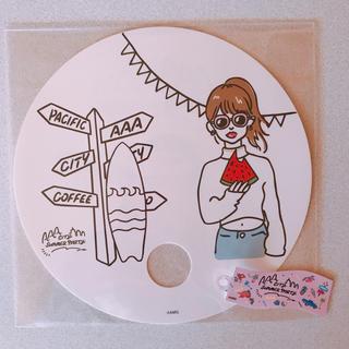 トリプルエー(AAA)のAAA カフェ うちわ(国内アーティスト)