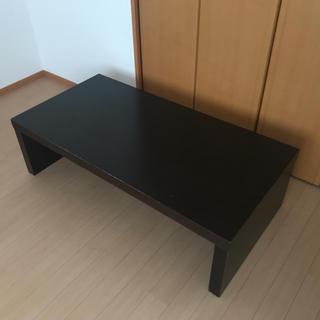 フランフラン(Francfranc)のフランフラン ロー テーブル 黒 木製(ローテーブル)