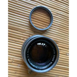 LEICA - 土日のみ値下げ Leica ライカ Summicron  50mm フィルター付