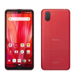 アクオス(AQUOS)のAQUOS R3(Luxury Red) ✩美麗品✩超特価!(スマートフォン本体)