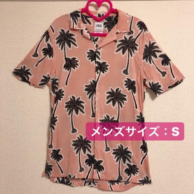 ZARA(ザラ)のZARA アロハシャツ ♥ ♥ ♥ メンズのトップス(シャツ)の商品写真