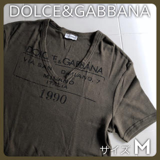 ドルチェアンドガッバーナ(DOLCE&GABBANA)のUSED 使用品 DOLCE&GABBANAアンダーウェアライン メンズ リブT(Tシャツ/カットソー(半袖/袖なし))