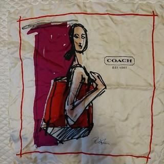 コーチ(COACH)のCOACHスカーフ(バンダナ/スカーフ)