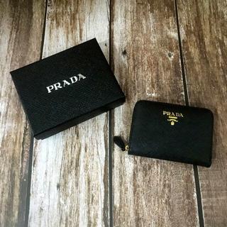 プラダ(PRADA)のPRADA プラダ ネロブラック 小銭 カードケース(コインケース/小銭入れ)